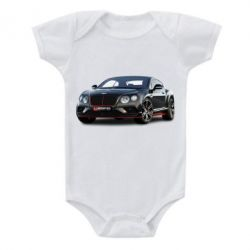 Дитячий бодік Bentley car3