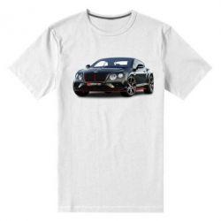 Чоловіча стрейчева футболка Bentley car3