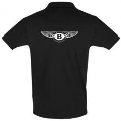 Футболка Поло Bentley wings