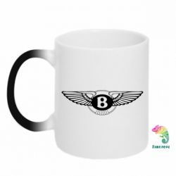 Кружка-хамелеон Bentley wings