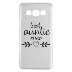 Чохол для Samsung A3 2015 Best auntie ever