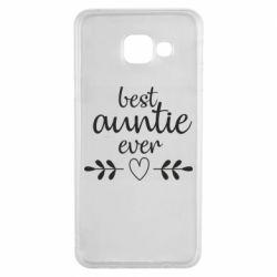 Чохол для Samsung A3 2016 Best auntie ever