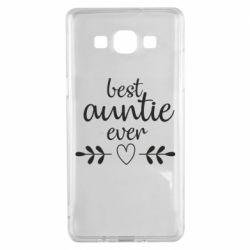 Чохол для Samsung A5 2015 Best auntie ever