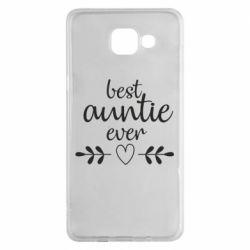 Чохол для Samsung A5 2016 Best auntie ever