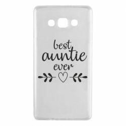 Чохол для Samsung A7 2015 Best auntie ever