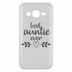 Чохол для Samsung J2 2015 Best auntie ever
