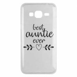 Чохол для Samsung J3 2016 Best auntie ever