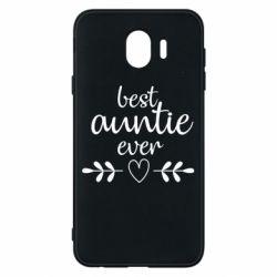 Чохол для Samsung J4 Best auntie ever