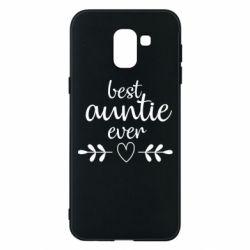Чохол для Samsung J6 Best auntie ever