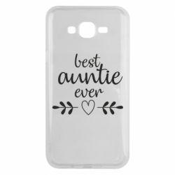 Чохол для Samsung J7 2015 Best auntie ever