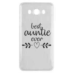 Чохол для Samsung J7 2016 Best auntie ever