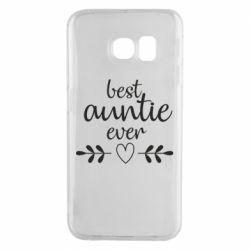 Чохол для Samsung S6 EDGE Best auntie ever