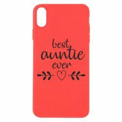 Чохол для iPhone Xs Max Best auntie ever