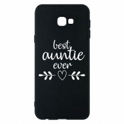 Чохол для Samsung J4 Plus 2018 Best auntie ever
