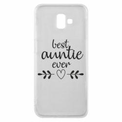 Чохол для Samsung J6 Plus 2018 Best auntie ever