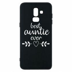 Чохол для Samsung J8 2018 Best auntie ever