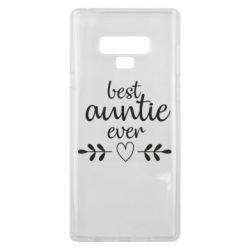 Чохол для Samsung Note 9 Best auntie ever