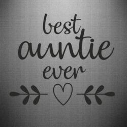 Наклейка Best auntie ever