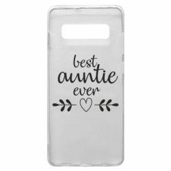 Чохол для Samsung S10+ Best auntie ever