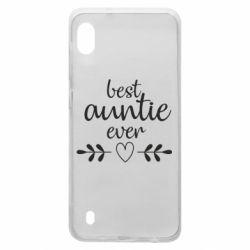 Чохол для Samsung A10 Best auntie ever