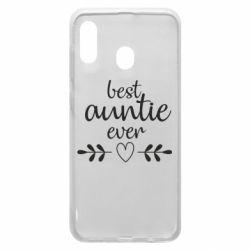 Чохол для Samsung A20 Best auntie ever