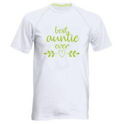 Чоловіча спортивна футболка Best auntie ever