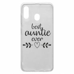 Чохол для Samsung A30 Best auntie ever