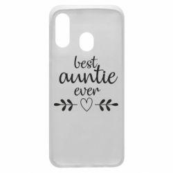 Чохол для Samsung A40 Best auntie ever