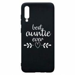 Чохол для Samsung A70 Best auntie ever