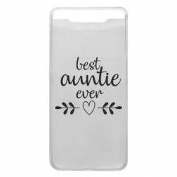Чохол для Samsung A80 Best auntie ever