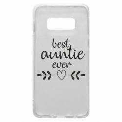 Чохол для Samsung S10e Best auntie ever