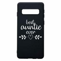 Чохол для Samsung S10 Best auntie ever