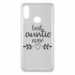 Чохол для Samsung A10s Best auntie ever