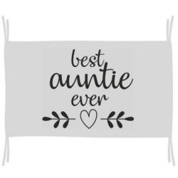 Прапор Best auntie ever