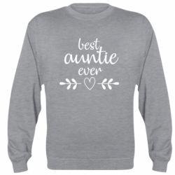 Реглан (світшот) Best auntie ever