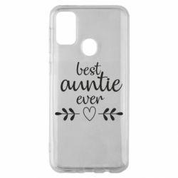 Чохол для Samsung M30s Best auntie ever