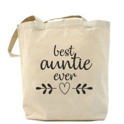 Сумка Best auntie ever