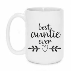 Кружка 420ml Best auntie ever