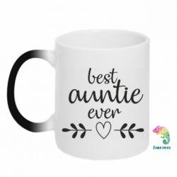 Кружка-хамелеон Best auntie ever