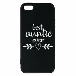 Чохол для iphone 5/5S/SE Best auntie ever
