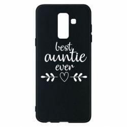 Чохол для Samsung A6+ 2018 Best auntie ever