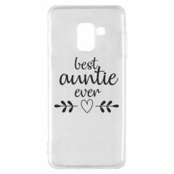 Чохол для Samsung A8 2018 Best auntie ever