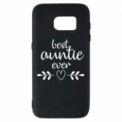 Чохол для Samsung S7 Best auntie ever