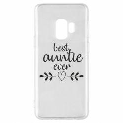 Чохол для Samsung S9 Best auntie ever