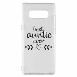 Чохол для Samsung Note 8 Best auntie ever