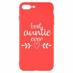 Чохол для iPhone 8 Plus Best auntie ever