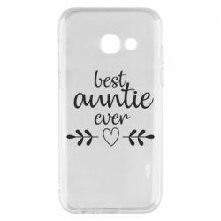 Чохол для Samsung A3 2017 Best auntie ever