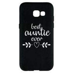 Чохол для Samsung A5 2017 Best auntie ever