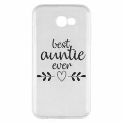 Чохол для Samsung A7 2017 Best auntie ever