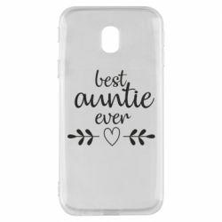 Чохол для Samsung J3 2017 Best auntie ever